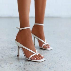 Billini Stefani Heel in White